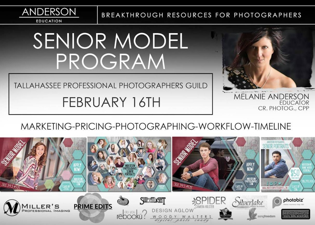 Melanie Anderson | Senior Model Program | Tallahassee Professional Photographers Guild